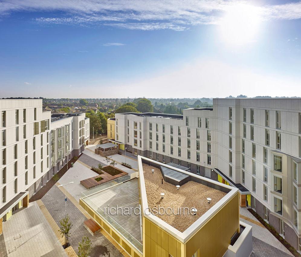 UEA Blackdale Residences for LSI Architects