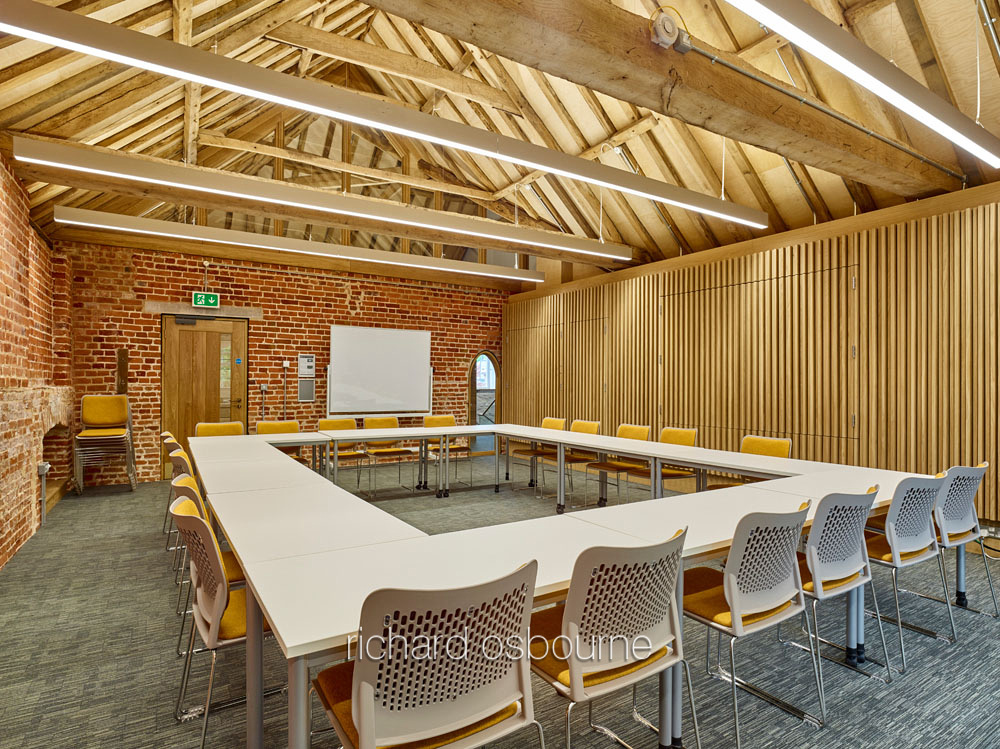 Earlham Hall Courtyard, UEA for LSI Architects