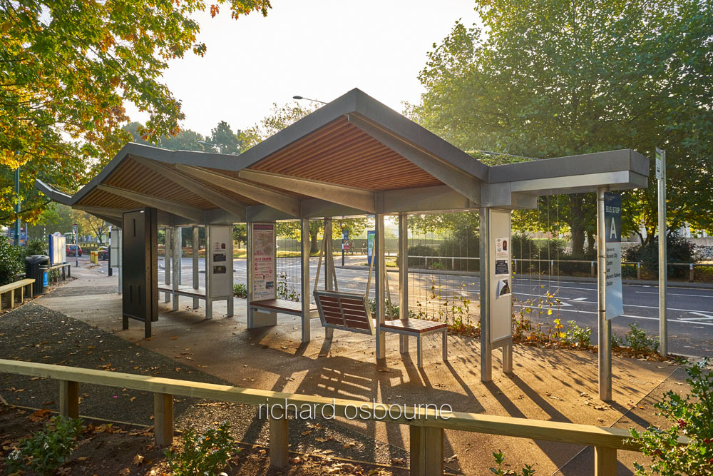 UEA Bus Stop Canopy for LSI