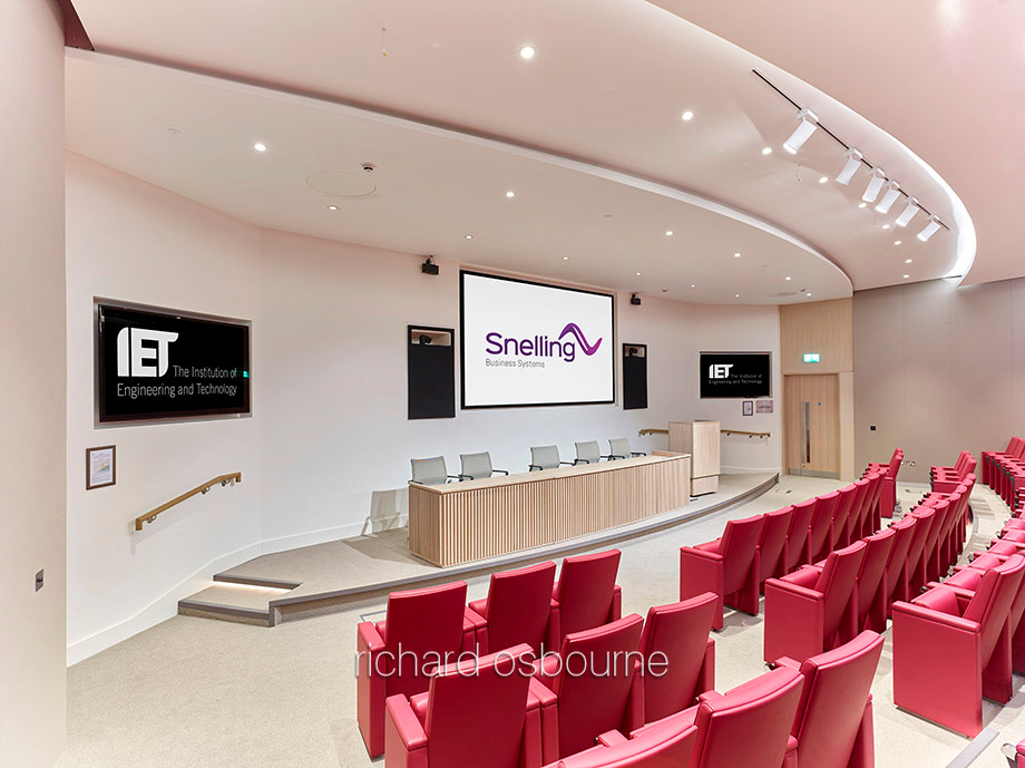 Institution of Engineering & Technology, Savoy Place, London for Snelling Business Systems