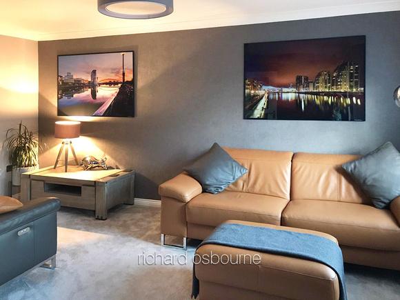 PhotoGlass Artworks 120 x 90cm