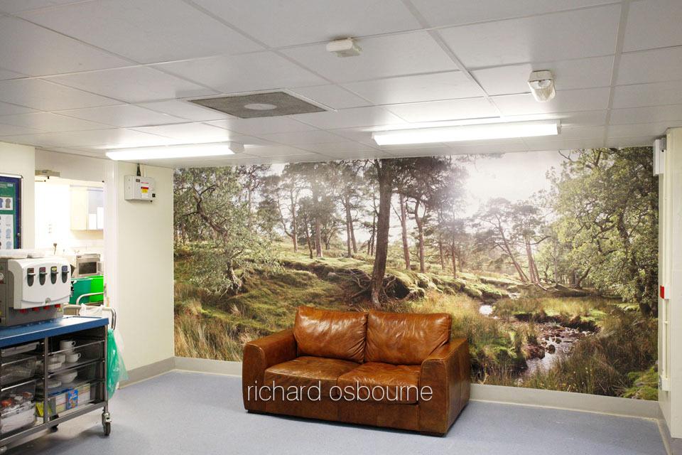 UHSM Wythenshawe Hospital - PhotoWall Laminated Wallpaper, 5m x 2.2m